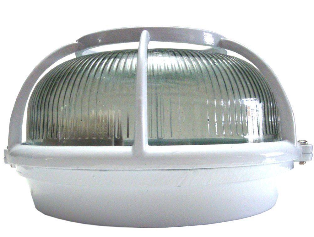 Luminária Blindada redonda para Sauna Úmida - Impercap