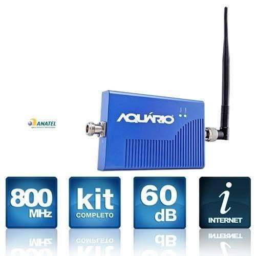 Kit Repetidor Aquário RP960 - 900 Mhz 60db