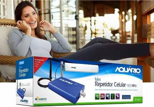 Kit Repetidor Aquário RP1860 -1800 Mhz 60db