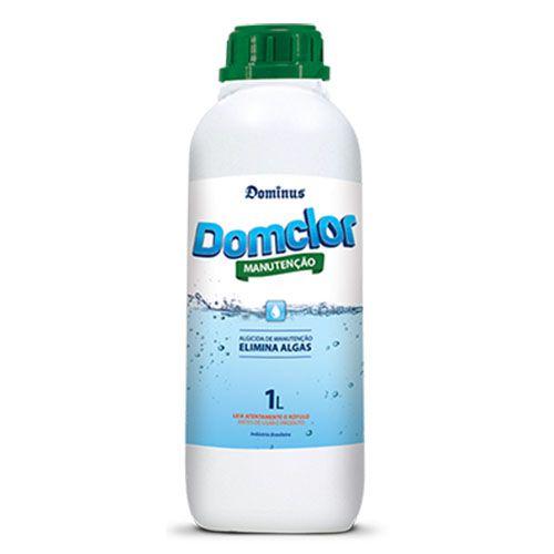 Algicida de Manutenção 1L - Elimina algas Piscina - Domclor