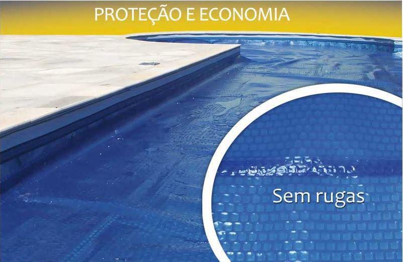 Capa térmica bolha para piscinas de 10x5 (50m²)