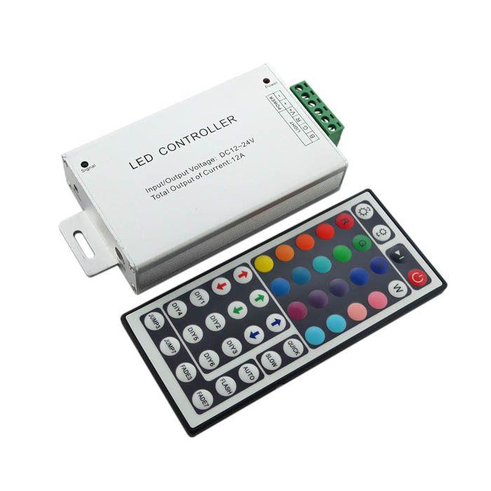 Central De Comando Compacta Para LED RGB + Controle