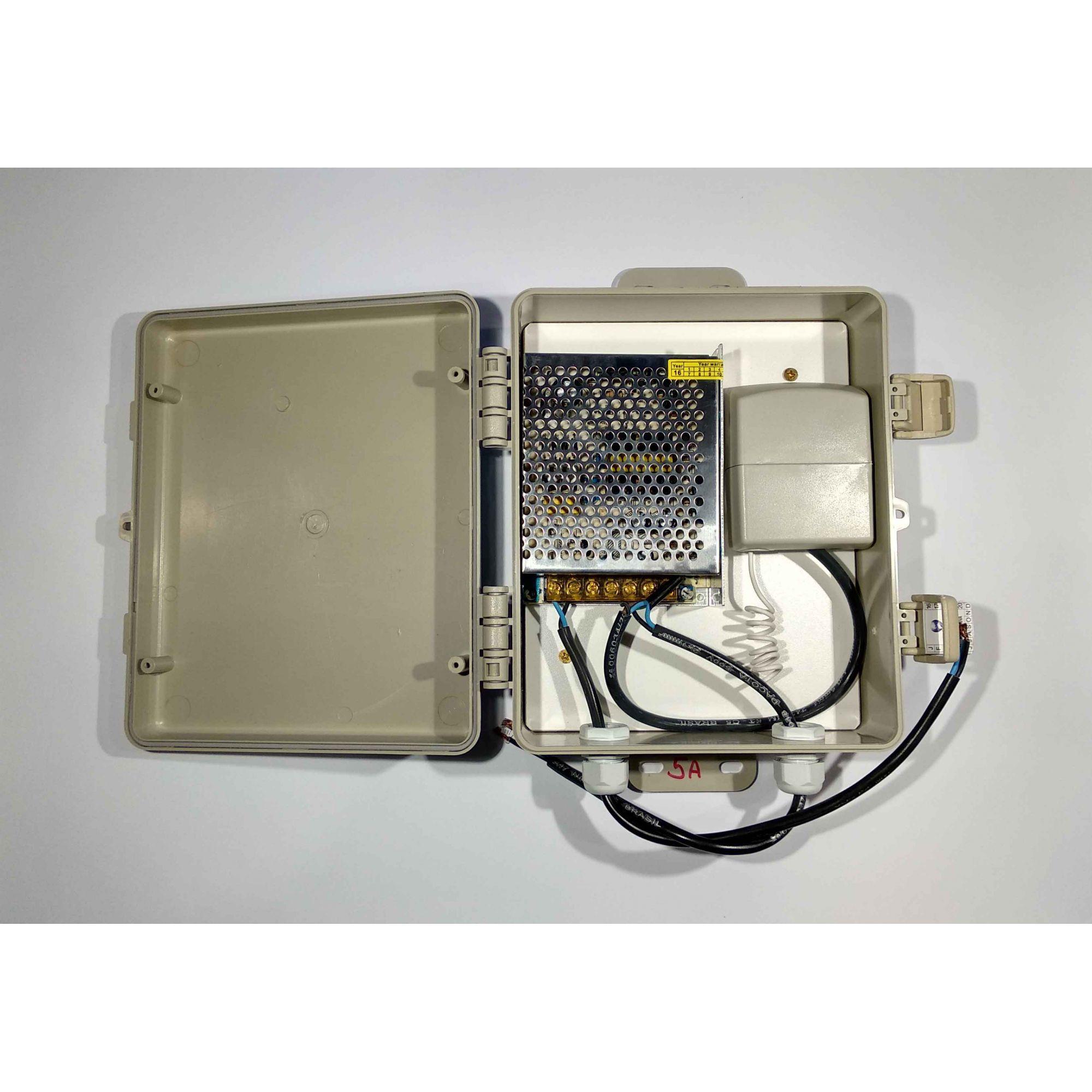 Central de Comando LED Piscina Monocromático com Controle - 180w/15A