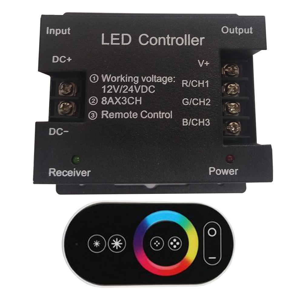 Controle Touch - Controlador de Leds RGB para Piscinas