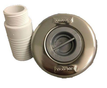Dispositivo de Aspiração Piscina ABS/Inox Pratic - Sodramar