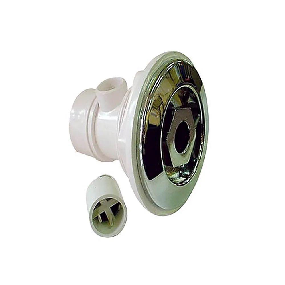 Dispositivo de Hidromassagem Piscina ABS Cromado 1 1/2''
