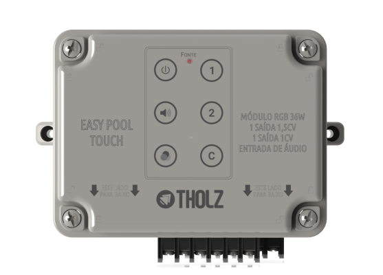 Easy Pool Touch 36w - Tholz - Controlador para Piscinas