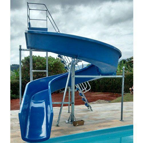Escorregador toboágua 11,5m para Piscina Grande, Parque e Clube