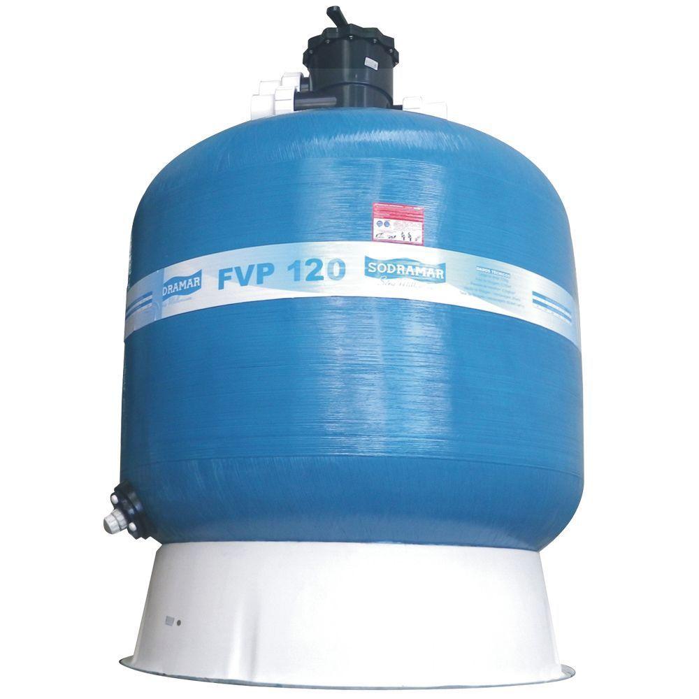 Filtro Piscina Comercial FVP 120 - até 451 mil litros