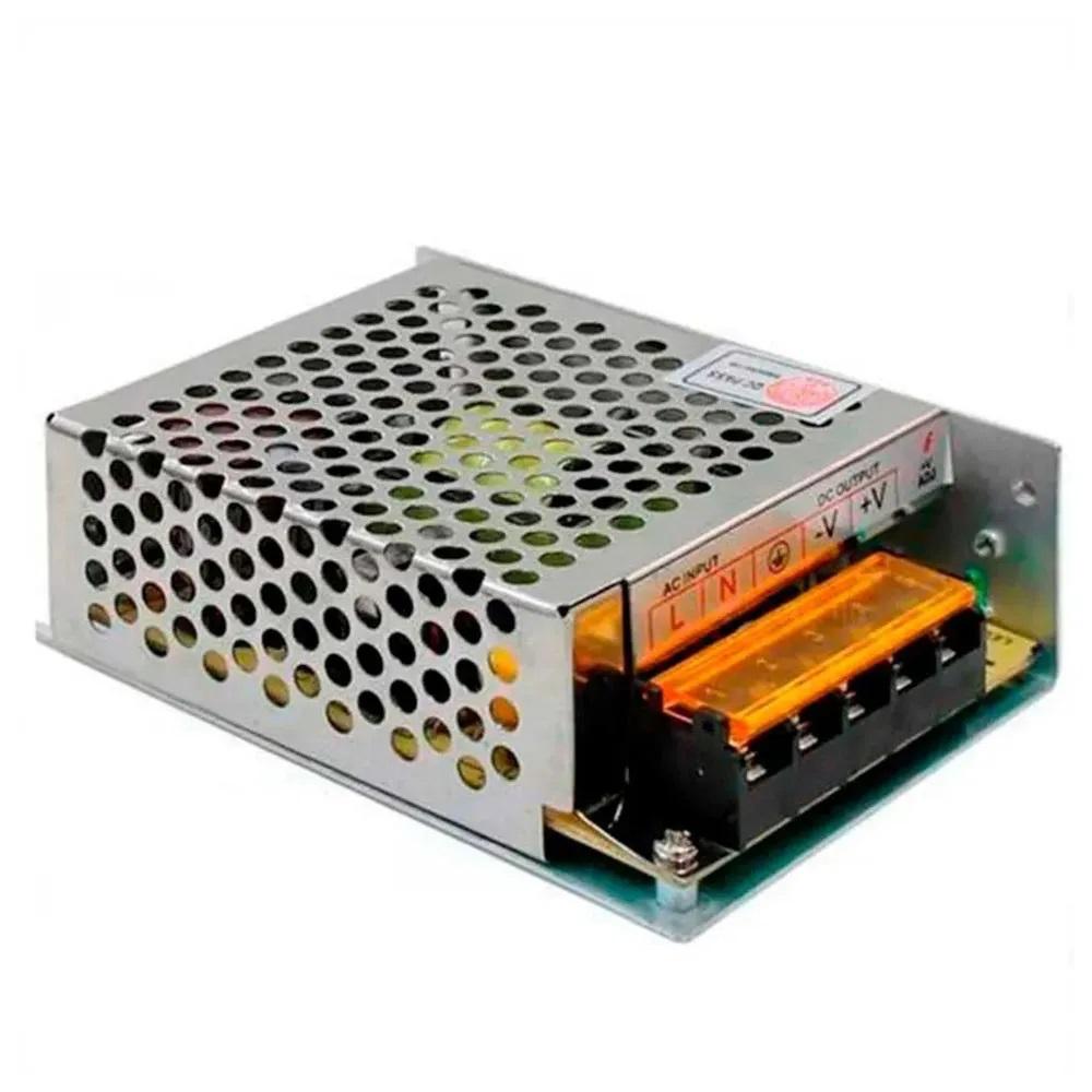 Fonte Chaveada 5A 60w 12v para Central de Comando LED