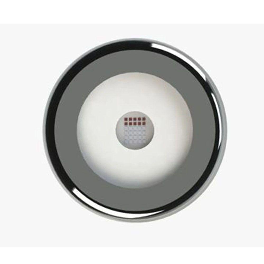 Kit 1 Led Piscina Inox RGB 6W + Central + Controle - Tholz