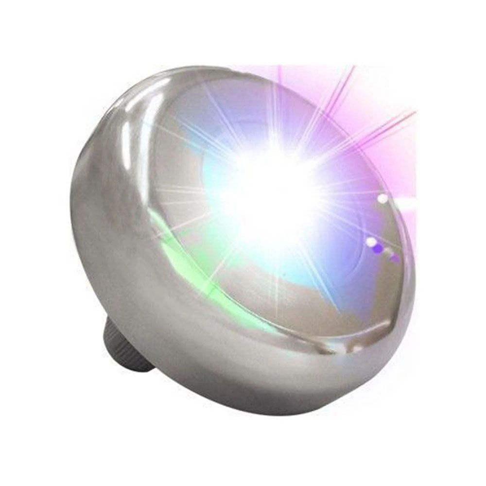 Kit 7 Led Piscina Inox RGB 6W + Central + Controle - Tholz