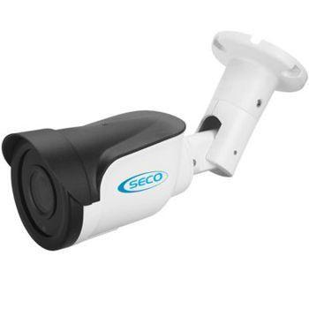 KIT 8 Câmeras Bullet IR Híbrida Plástico Rígido - AHD HD 720p