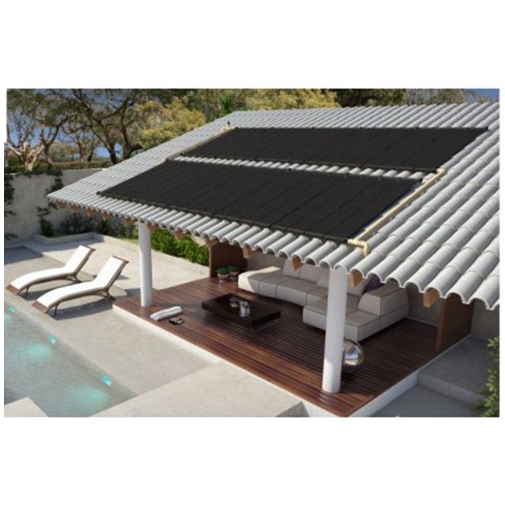 Kit Aquecedor Solar Piscina até 6m² ou 8.000 L