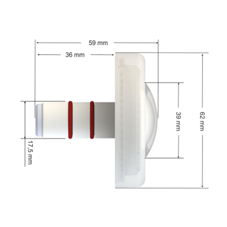 Led para Piscina Monocromático 4,5W - Tholz