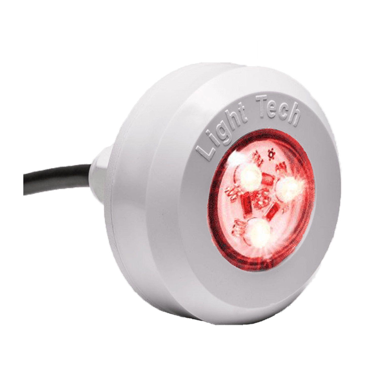 Kit 5 Led Piscina RGB 4,5W Tec Light + Central Touch - Light Tech
