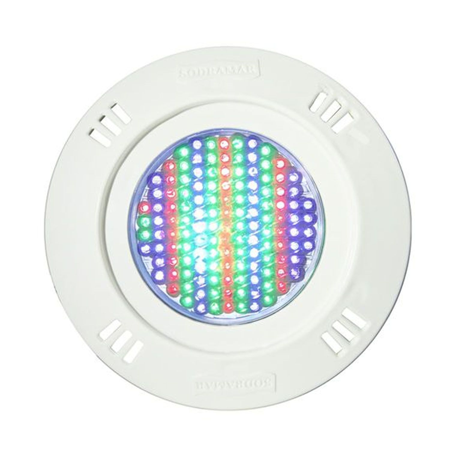 Kit 7 Led Piscina Pratic SMD 5w + Central Touch - Sodramar