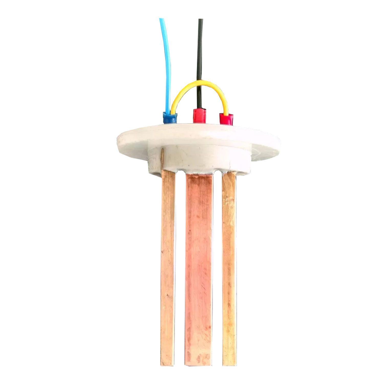 Refil Eletrodo Ionizador Piscina Pure Water Pw 505 (4 Eletrodos)