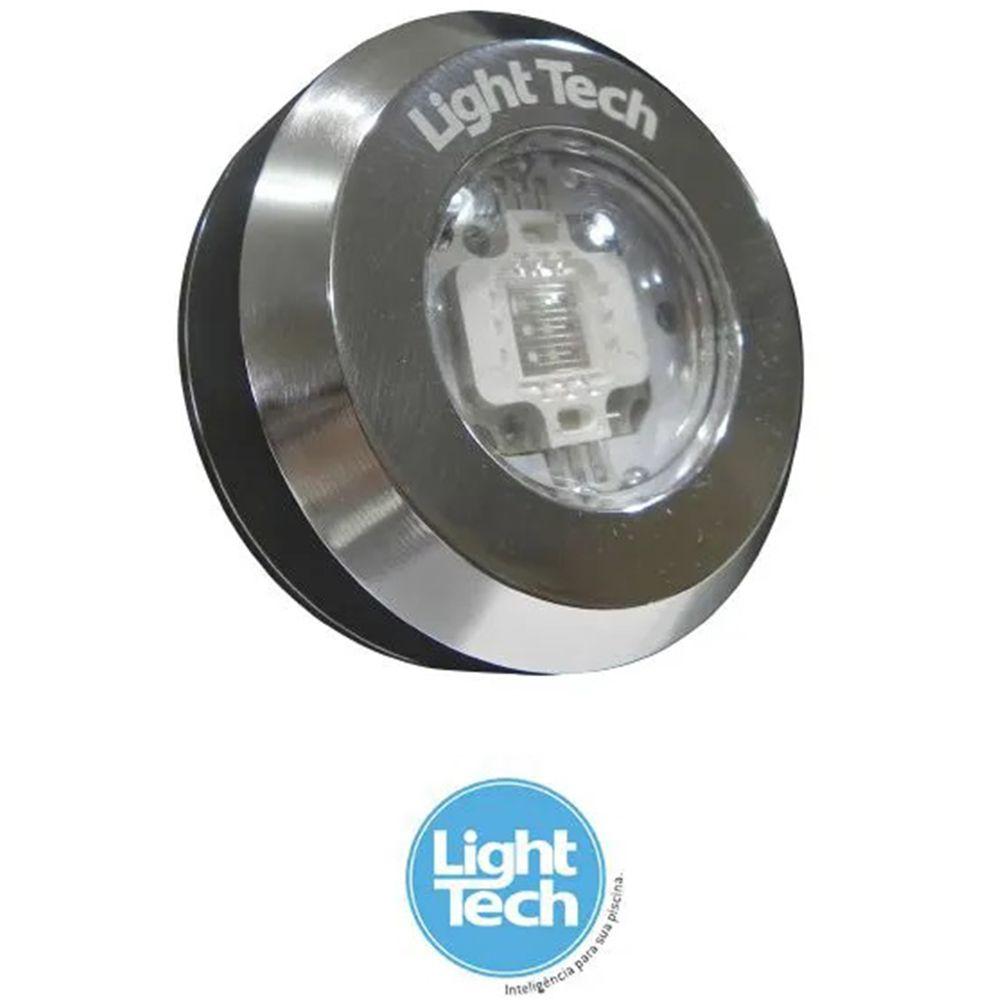 Refletor Piscina Tiny Led Inox RGB 10W - Light Tech