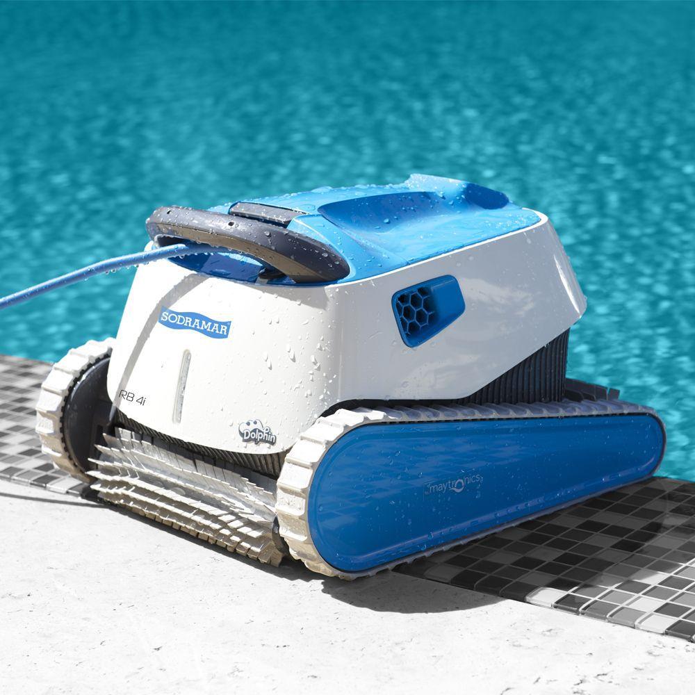 Robô de limpeza de piscina de até 15m RB4i