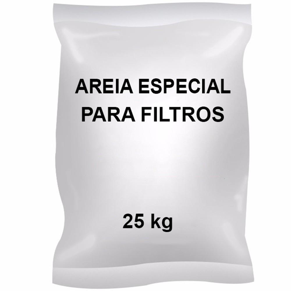 Saco Areia Filtro Piscina - 25kg
