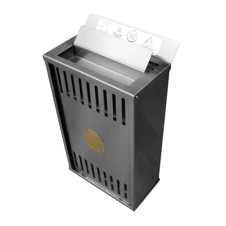 Sauna Seca Elétrica parede - Comando Digital 6Kw Impercap - até 10,5m³