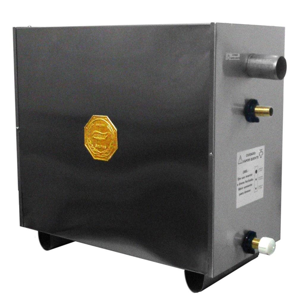 Sauna Vapor Elétrica 24kw Inox - Comando Digital Impercap - 40m³