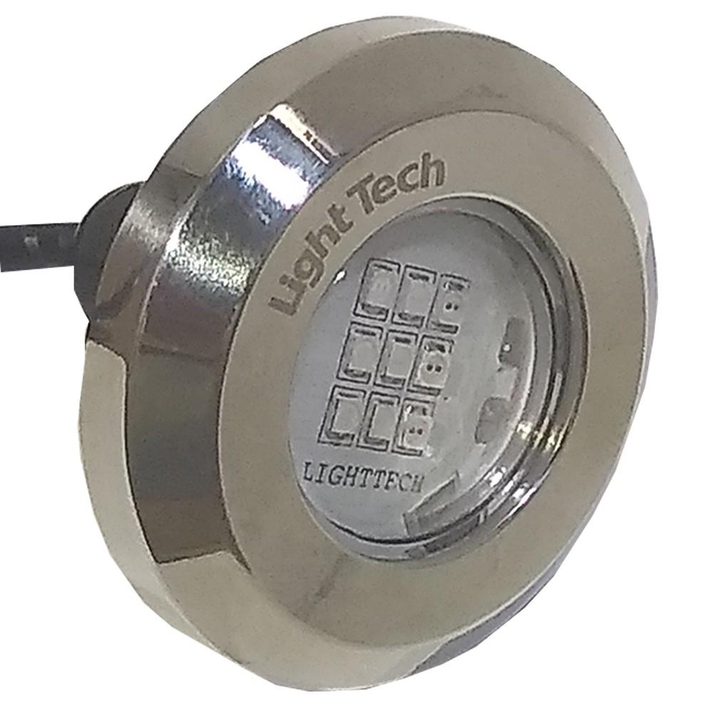 Refletor Piscina Tiny Led Inox 316 Mono 10W - Light Tech