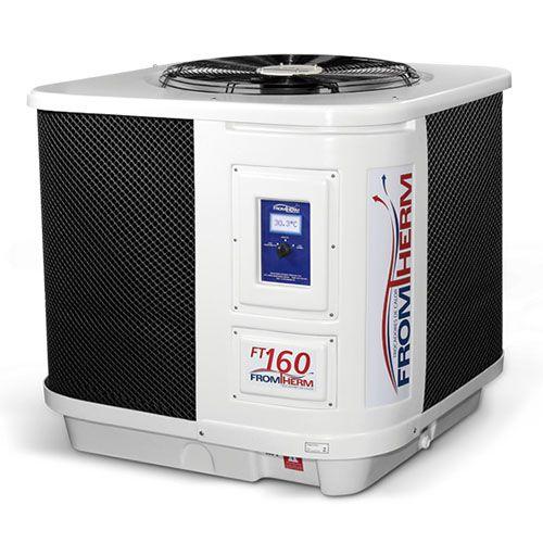 Trocador de Calor Aquecedor Piscina FromTherm FT160 com TouchScreen