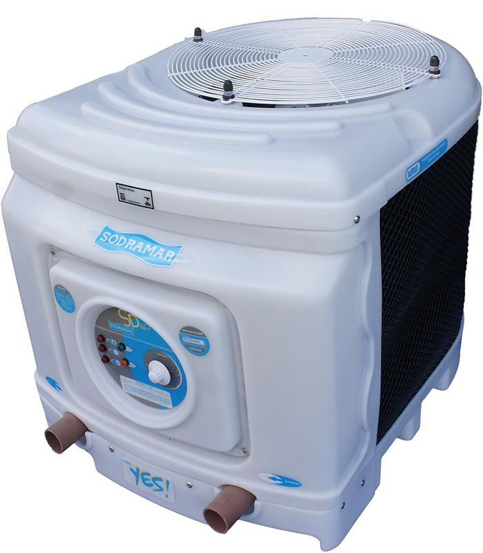 Trocador de Calor SD 105 TITÂNIO Sodramar - Aquecedor Piscina