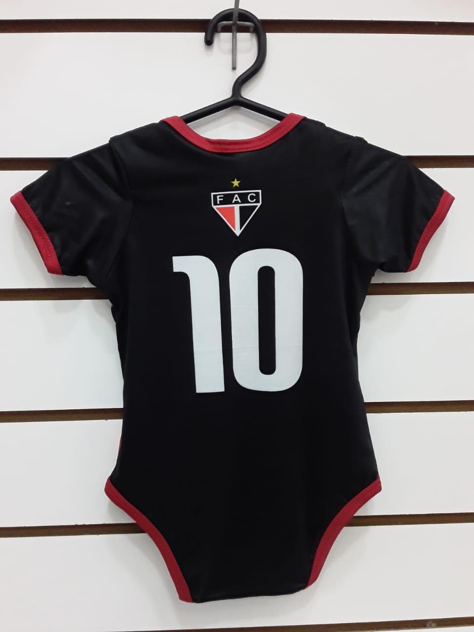Body Infantil preto nº10