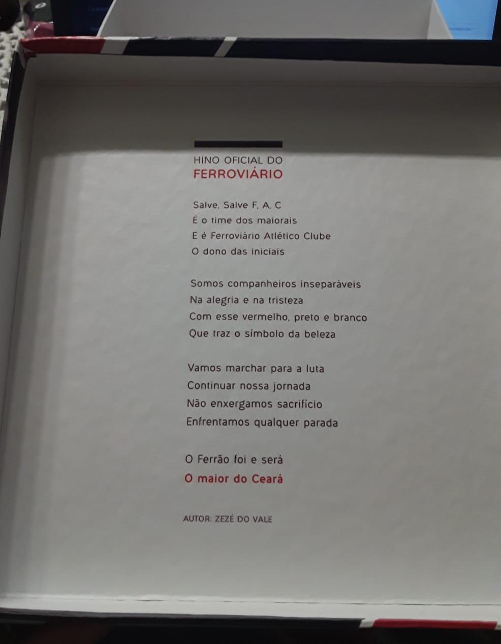 Caixa presente Ferrão