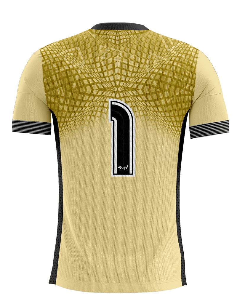 Camisa De Goleiro MASCULINA unif. 01 amarela REF.4811055