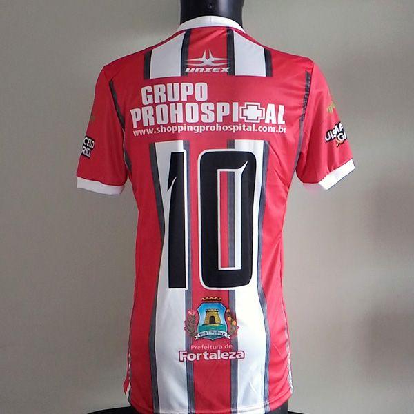 Camisa Uniex Pat 02 2018  - Ferroviário Atlético Clube