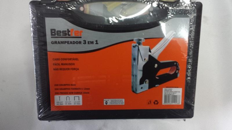 GRAMPEADOR 3 em 1 MANUAL PARA TAPECEIRO COM MALETA 106