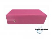 Capa Colchão Impermeável Casal QUEEN ROSA PINK - Medida Especial