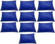 Kit 10 Capas Travesseiro 50 X 70 Hospitalar Impermeável Azul