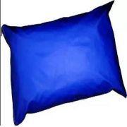 Kit 50 Capas Travesseiro 50 X 70 Hospitalar Impermeável azul