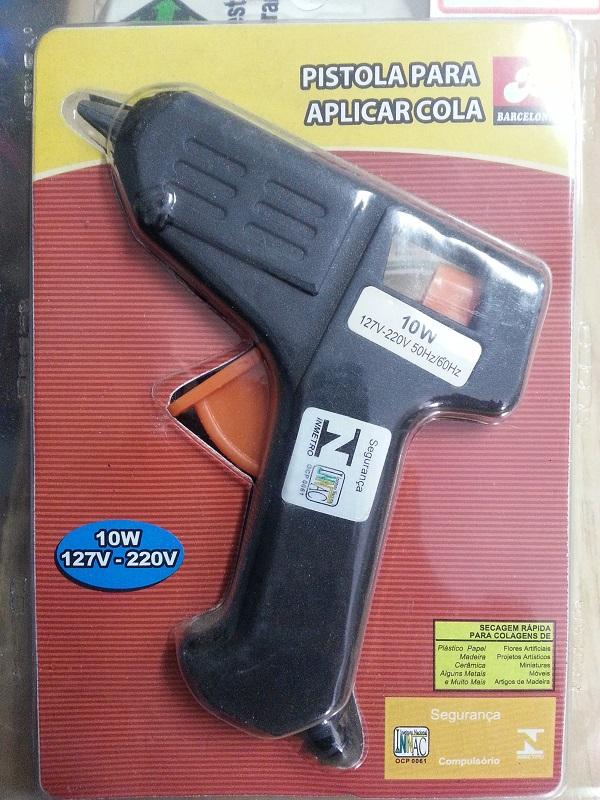 Pistola Para Aplicação de Cola Quente - BIVOLT