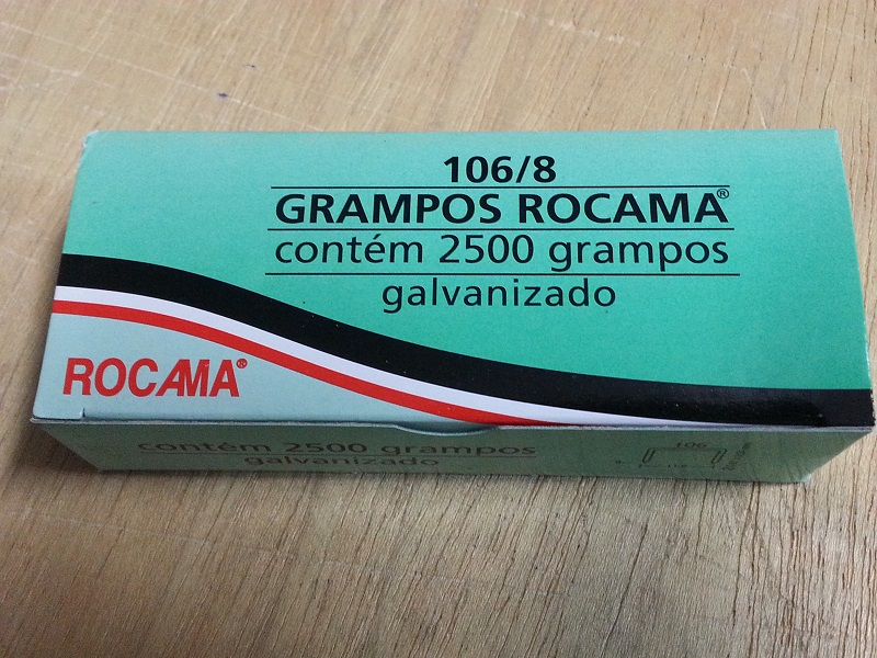 Grampos Para Grampeador Manual - Tapeçaria  - Miranda Colchões