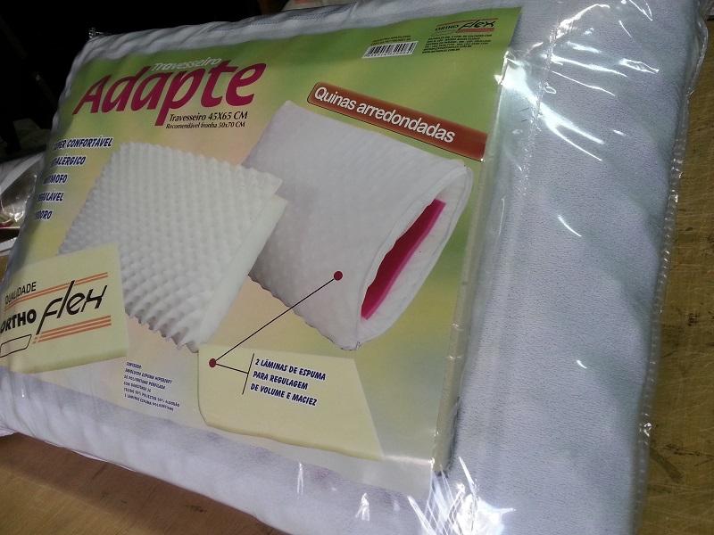 Travesseiro Orthoflex Adapte