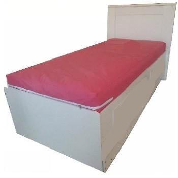 Capa Colchao Solteiro Rosa Hospitalar Impermeavel Com Ziper