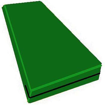 Capa Colchao Solteiro Verde Bandeira Hospitalar Impermeavel Com Ziper