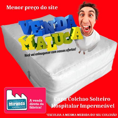 Capa hospitalar para colchão de solteiro impermeável coloridas  - Miranda Colchões