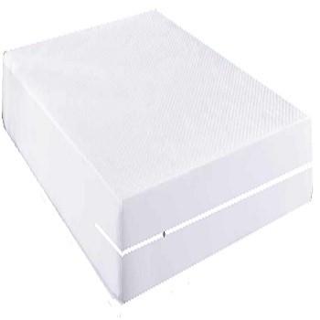 Capa Impermeável Colchão Anti Alérgica Branca- Casal