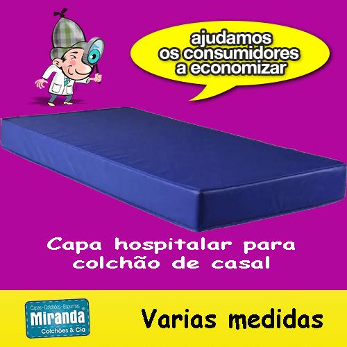 Capa Impermeável Para Colchão casal feita em napa hospitalar  - Miranda Colchões