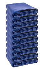 Kit 10 Capas De Colchão Solteiro Impermeável Azul  - Miranda Colchões