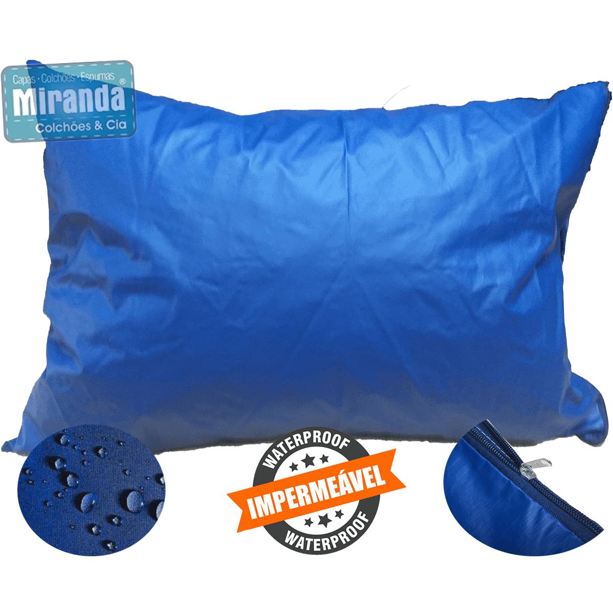 Kit 10 Capas Travesseiro 50 X 70 Hospitalar Impermeável Coloridas  - Miranda Colchões