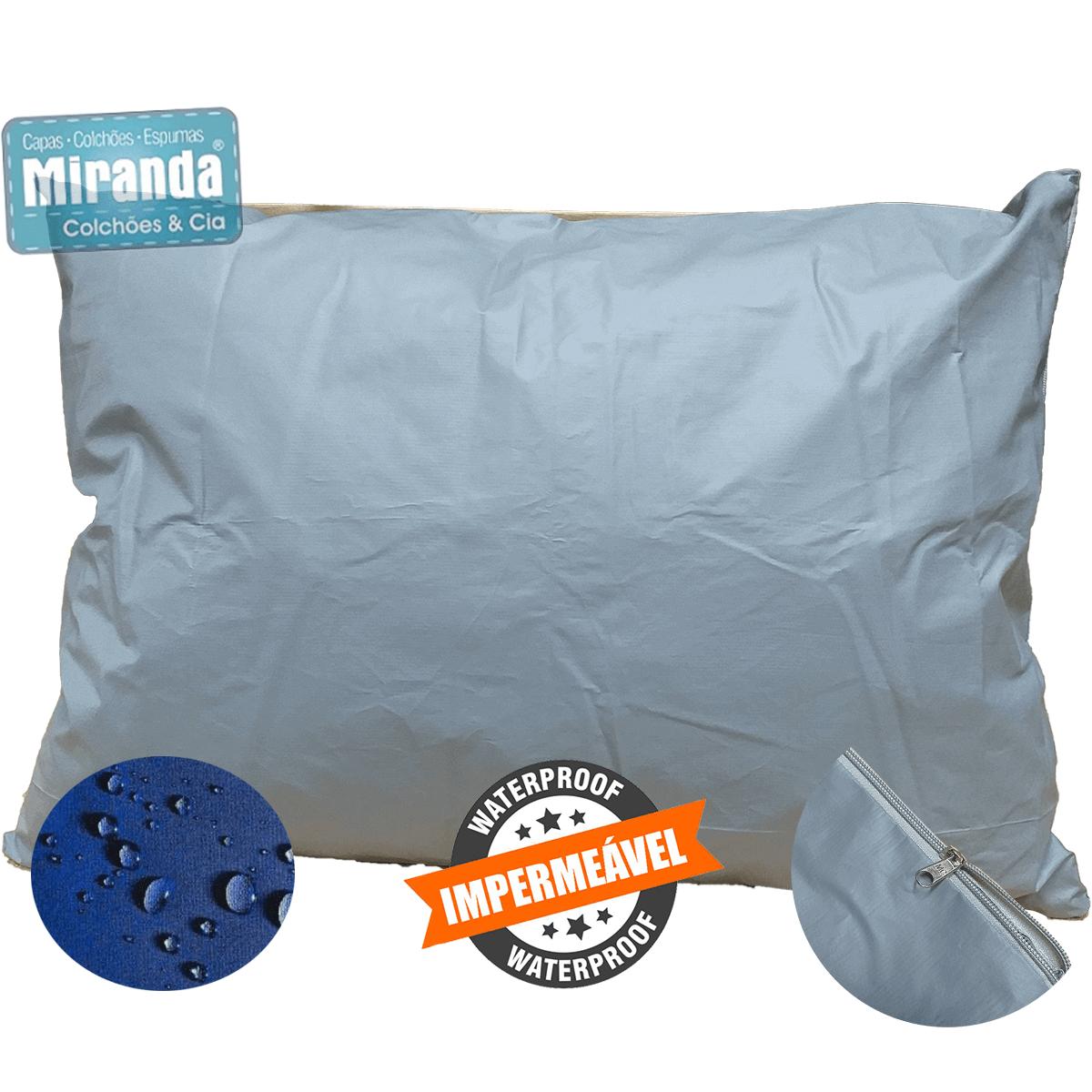 Kit 5 Capas Travesseiro 50 X 70 Hospitalar Impermeável Coloridas  - Miranda Colchões