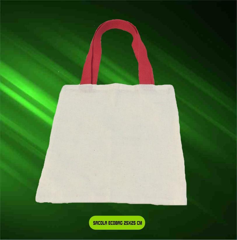 Bolsinha Infantil Ecobag - Kit com 10 Unidades  - Bolas Lassabia - Bolas e Brindes Personalizados